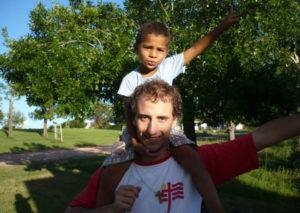 Simon, volontaire inigo à Mendoza-Argentine