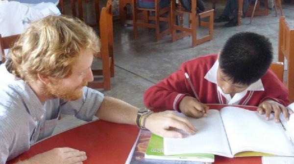 Denis Couillaud volontaire INIGO au Perou