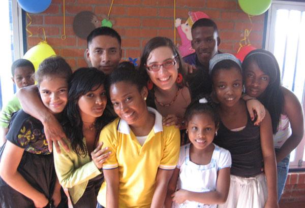 Gabrielle, volontaire international inigo à Cali en Colombie