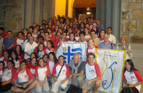 Simon Huet, volontaire international inigo avec Red Juvenil Ignatienne