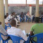 Mathieu, volontaire au Centre Culturel Loyola à Lomé