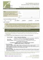 Formulaire de soutien Fondation de Montcheuil