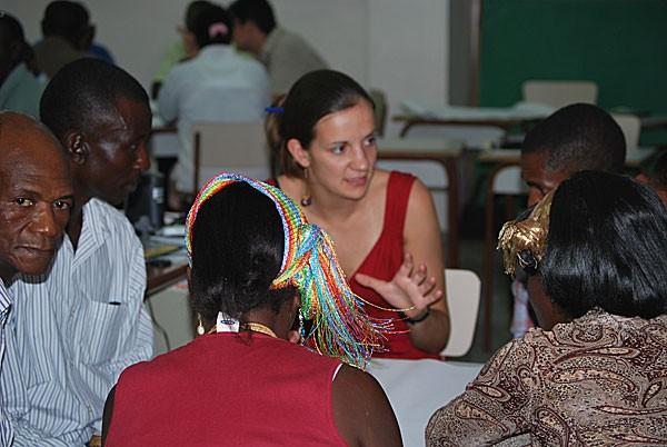Héléne, volontaire INIGO en république dominicaine