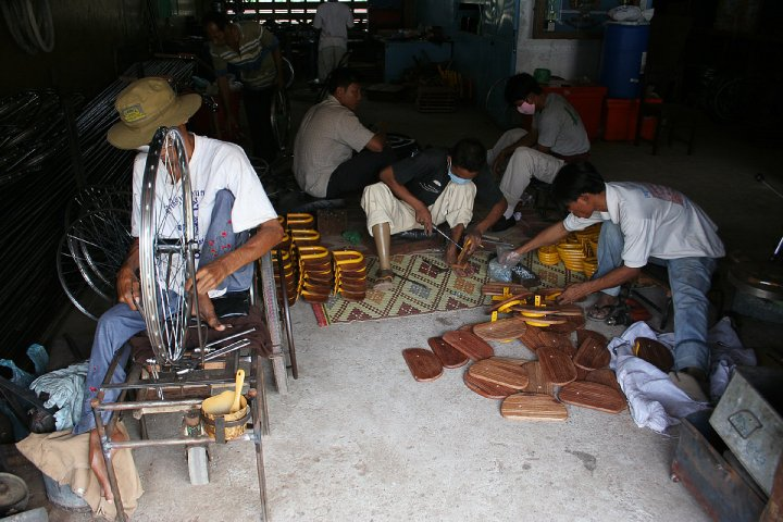 atelier du Centre Banteay Prieb au Cambodge