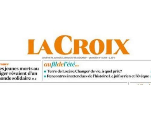 Article du journal La Croix – L'envoi de volontaires perturbé
