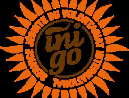Une rencontre en visio pour les volontaires Inigo sur le terrain